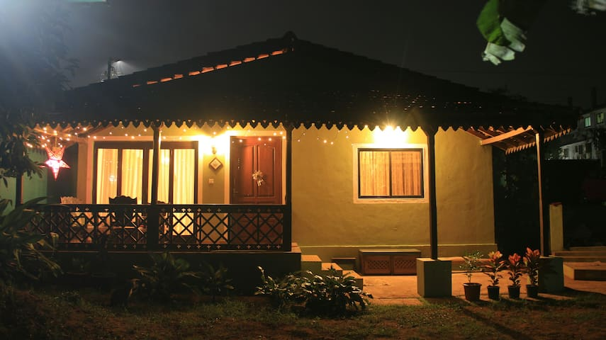 Hideout- Portuguese styled home near Panjim city