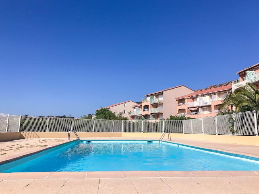 Private shared swimmingpool