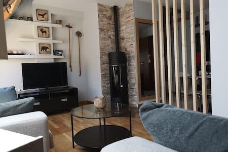 Acogedor apartamento duplex  con preciosas vistas.