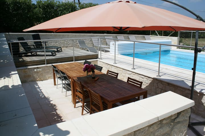 Two Separate Gites With Heated Pool