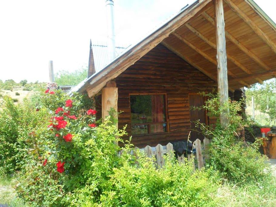 refugio cabaña