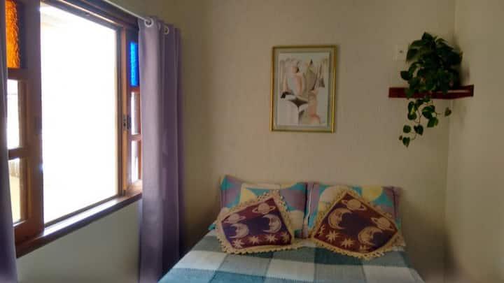 Quarto cama de casal  Bosque de Barão Geraldo