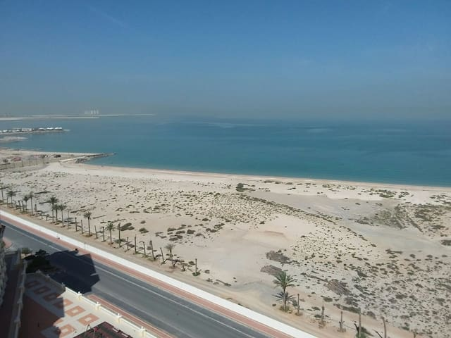 Twin room with sea-view - Al Jazirah Al Hamra - Apartment