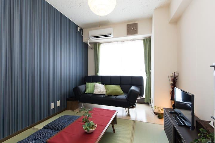 Stylish Studio apt nrOkachimachiSTA Easy>Ueno WiFi - Taitō-ku - Wohnung