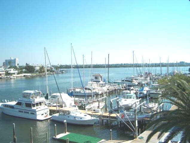 Another view from 3rd floor. We are right next door to the Clearwater Yacht Club.