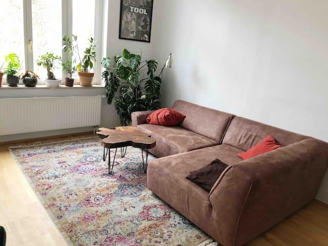 Gemütliche, ruhige Wohnung im Villenviertel