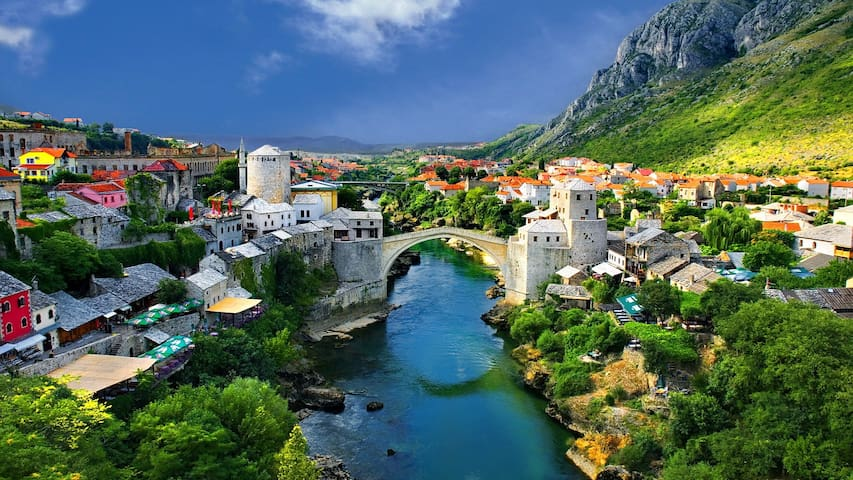 Apartment Center - Mostar - Departamento