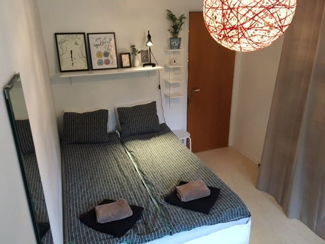 Private room, 11 min to the city! - Solna - Departamento