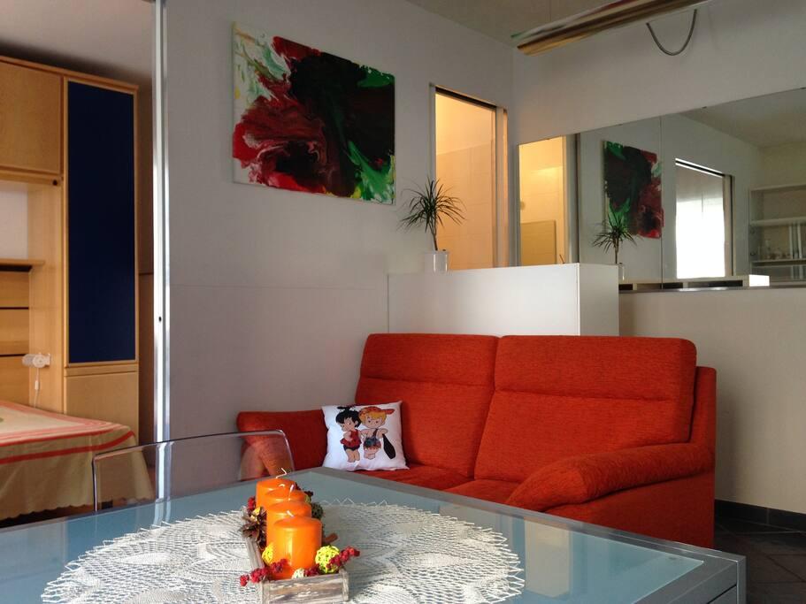 Bilocale da gina appartamenti in affitto a bolzano for Appartamenti in affitto arredati a bolzano