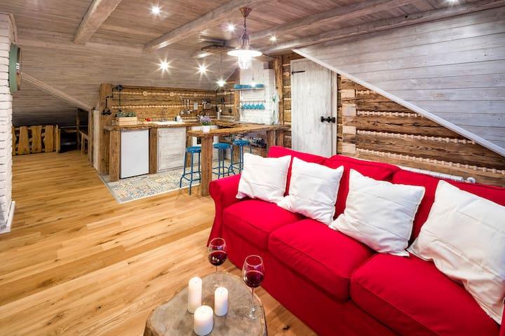 Babyhouse - Apartmán 3; 2 dospělí a děti - Dolní Lomná - Guest suite