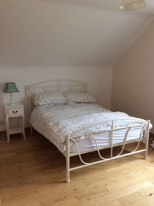 Ensuite bedroom 1 double bed and 1 single bed