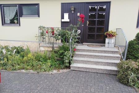 Ferienwohnung in ruhiger Lage mit Gartensauna