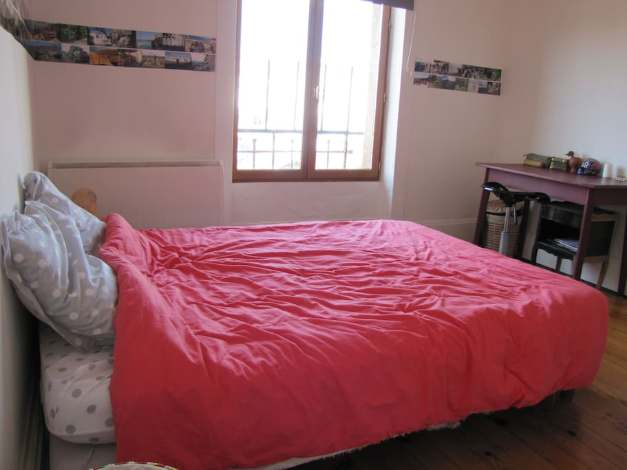 Chambre lumineuse pour 2 personnes appartements louer - Hotel lyon chambre 4 personnes ...