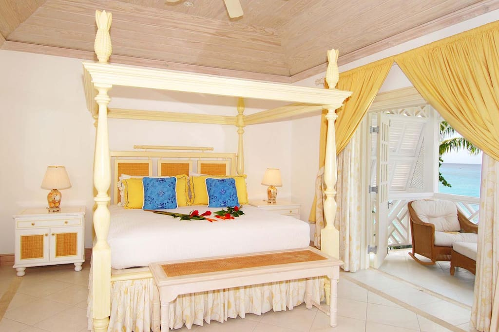 Mahogany Bay-Fathom's End - The bedrooms all have AC to cool you down after a day in the sun