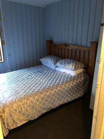 Bedroom two has queen bed