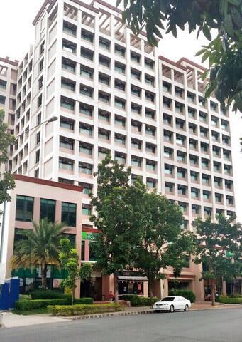 Fascade of Studio One Condominium