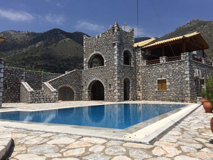 Stone Villa in Mani Lakonia
