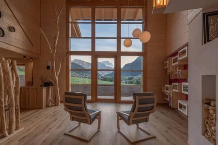 Camera Stella Alpina,con vista sulle Dolomiti