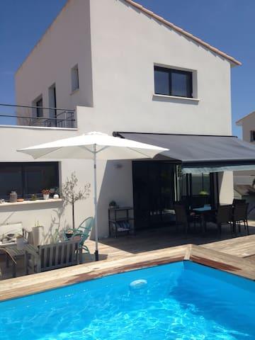 Belle Villa 15 mins plage & 10 mins de Montpellier - Le Crès - Villa