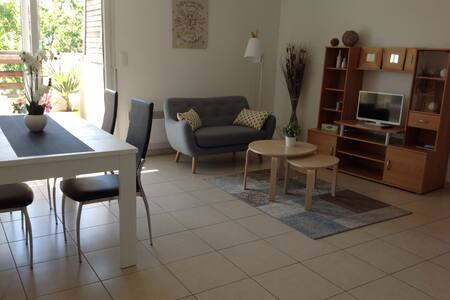 Beau T2 agréable et lumineux avec terrasse - Mauguio - Apartament