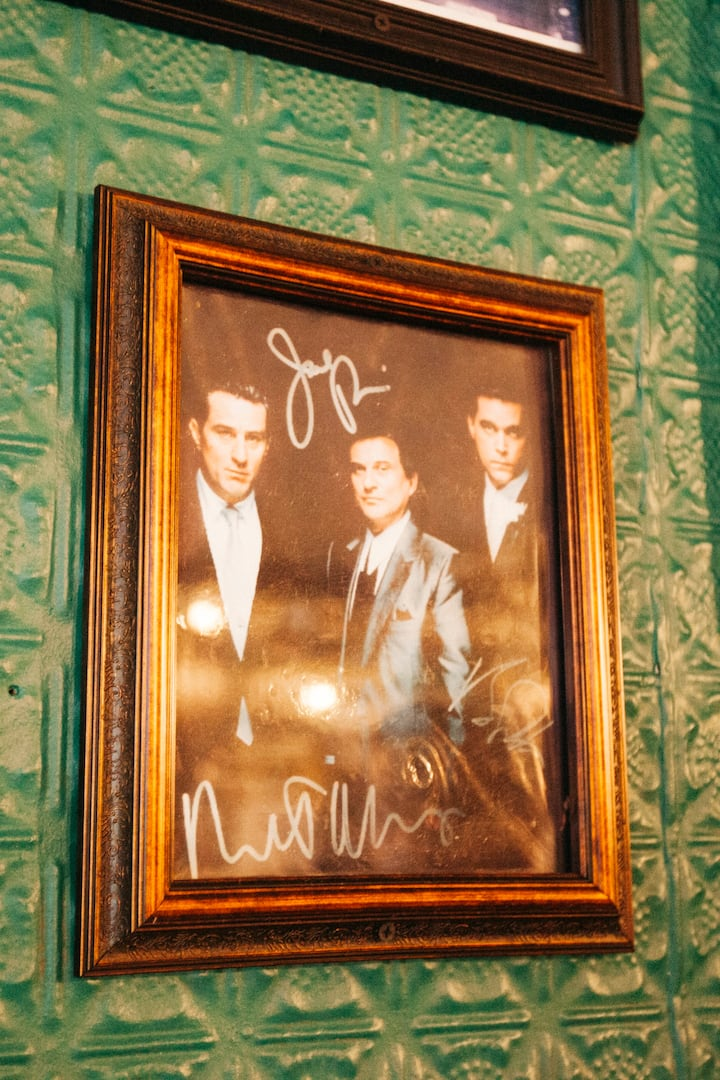 So much Goodfellas memorabilia at Neir's