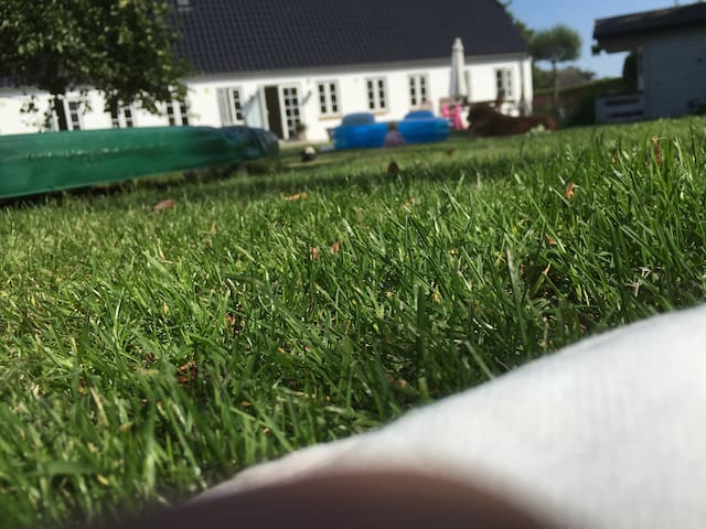 Idyllisk ejendom med stor have, nær Ribe & Esbjerg - Gredstedbro
