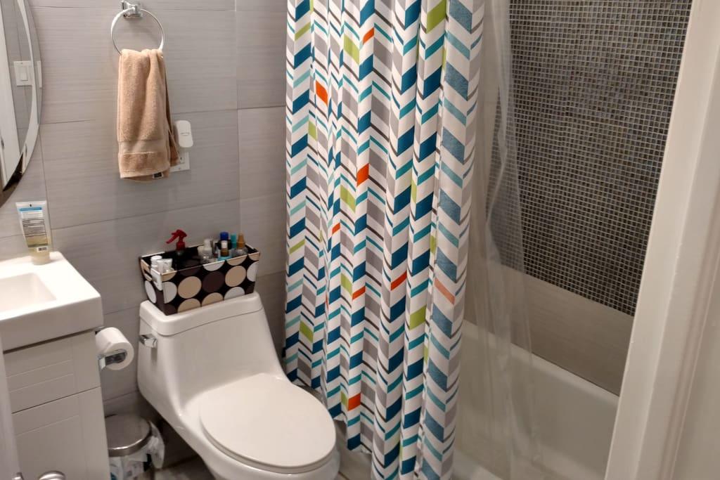 Shared/clean bathroom