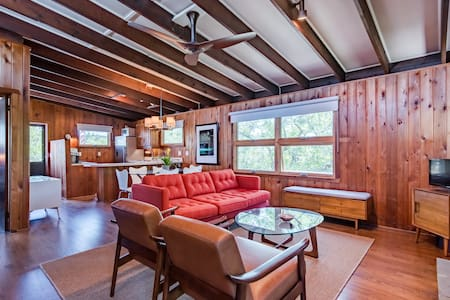 Fire Island Pines Beach House - Mid Century Modern - Fire Island Pines
