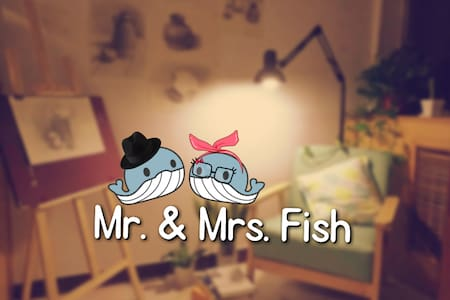 cozy apartment of Mr. and Mrs. Fish - Beijing
