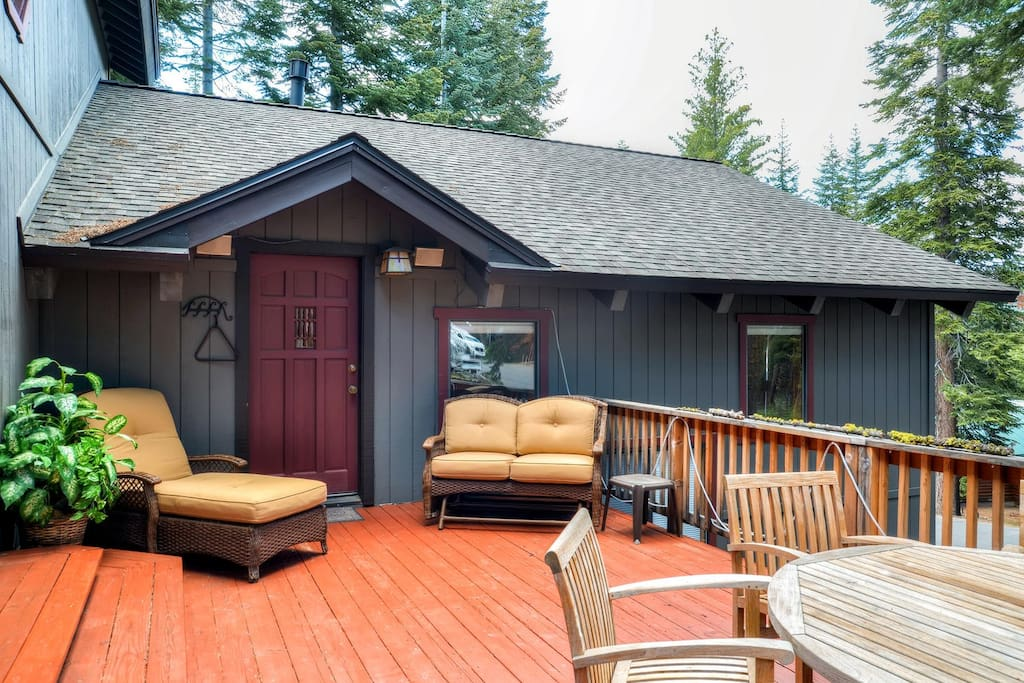 You'll love spending time on this deck.