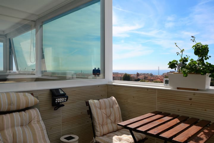 NEW&AMAZING-PANORAMIC SEAVIEW PENTHOUSE-PORTO AREA - Espinho - Apartemen