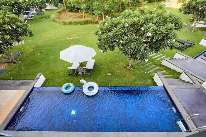 The Ocean Villa ❤️ 4 Bedrooms ❤️ Private Pool