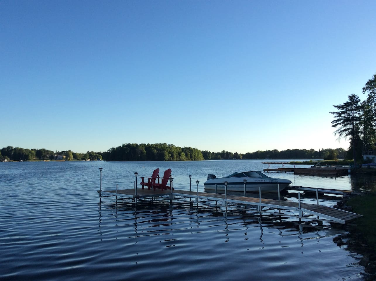 our two docks