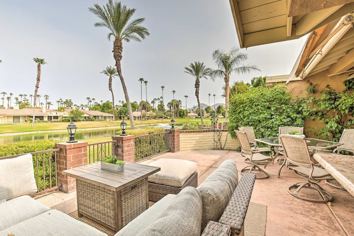 NEW! Upscale Palm Desert Escape w/Patio & Pool!