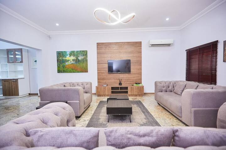 2 Bedroom Luxury Grill Apartment Life Camp Abuja.