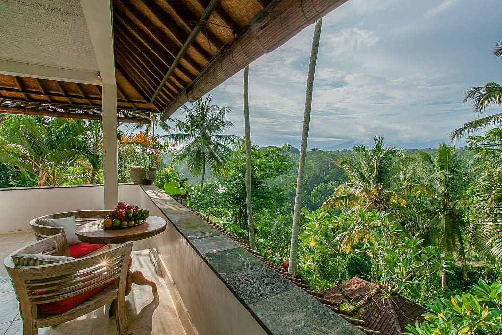 Sayan terrace honeymoon suite with amazing view villas for Terrace ubud bali