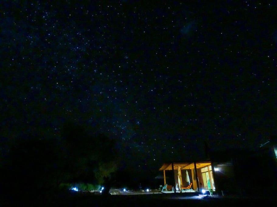 Cielo estrellado de Cucuter