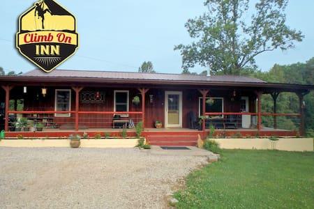 Climb On Inn - Main House - Red River Gorge KY - Pine Ridge - Casa