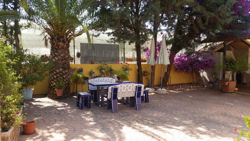 Villa María: Preciosa finca rural, Holiday House - Alhama de Murcia - Rumah