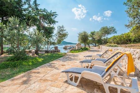 Three Bedroom Remote cottage, beachfront in Pašman