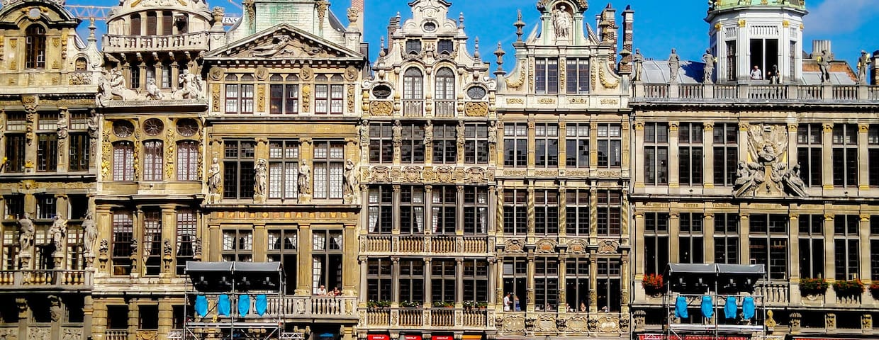 Vacation rentals in Brussels