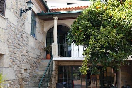 Nossa casa na aldeia.