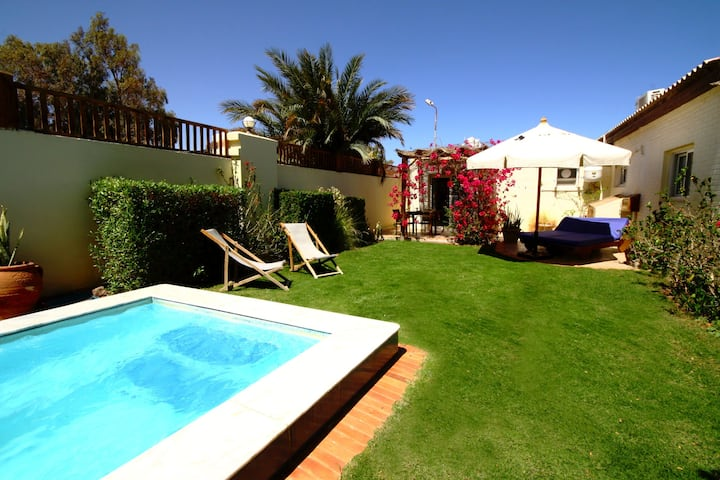 Seahorse Apt-Lagoon Villa (spa bath & shared pool)