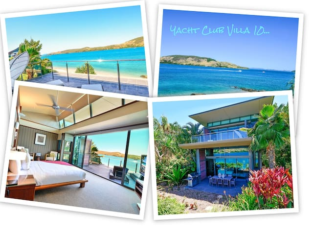 Yacht Club 10 Ocean Front Renovated Refurbished - Whitsundays - House