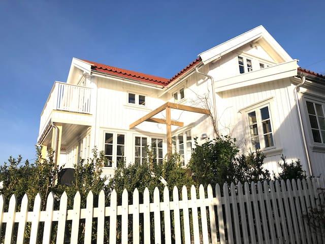 skipperhus med unik beliggenhet