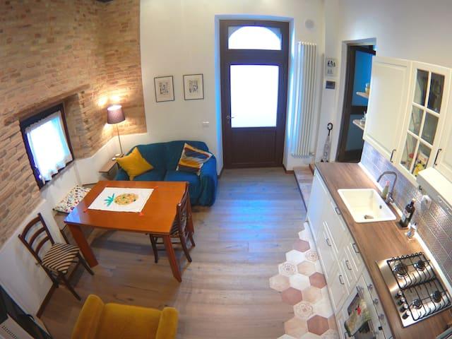 L'ingresso indipendente della casa