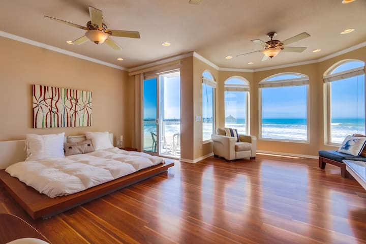 Right On the Sand! Enjoy Beachfront Living! - Imperial Beach - Haus
