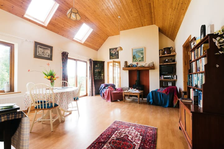 self catering cottage, on a farm .  - Ahascragh, ballinasloe - Kabin