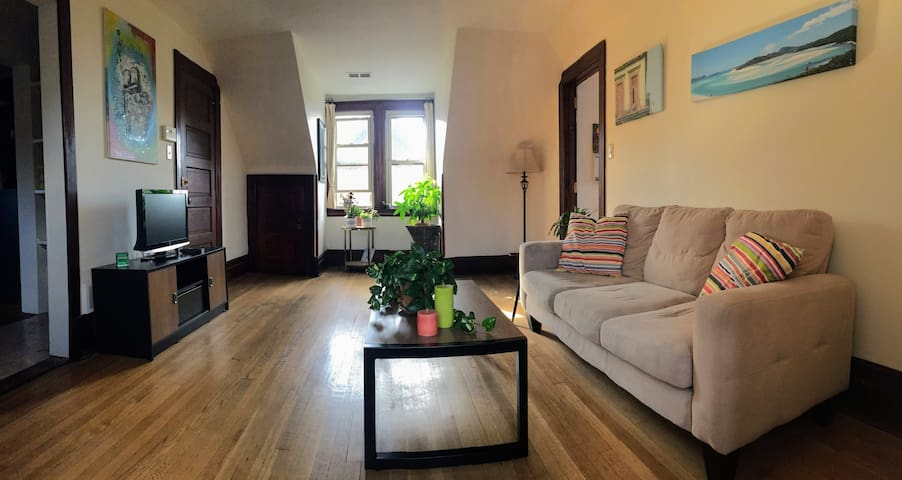 Large Bedroom in Unique Midtown Home