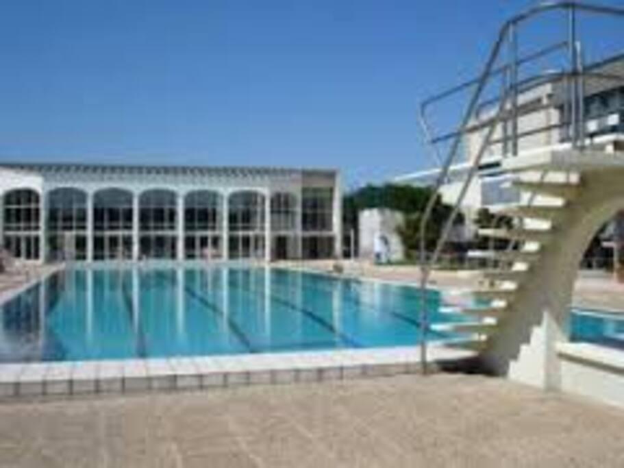 Dans une ville dotée de magnifique aménagements (piscine sauna hamam parc foret champs de courses....